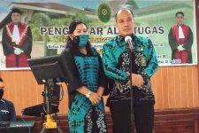 Ketua PA Rantau menghadiri Acara Pengantar Tugas  Ketua PN Rantau dan Hakim PN Rantau